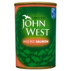 John West wild red salmon