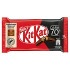 KitKat 4 Finger 70% dark chocolate bar - each