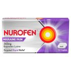 Nurofen 12 migraine pain tablets - 12s Brand Price Match - Checked Tesco.com 26/11/2014