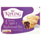 Mr Kipling Apple & blackcurrant pies - 6s