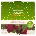 Duchy Originals from Waitrose organic Christmas pudding - 454g