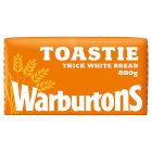 Warburtons thick sliced white toastie bread - 800g