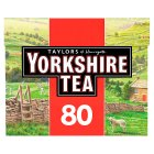 Taylors of Harrogate Yorkshire 80 tea bags - 250g Brand Price Match - Checked Tesco.com 30/07/2014