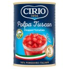 Cirio tinned Tuscan chopped tomatoes - 400g Brand Price Match - Checked Tesco.com 17/09/2014