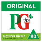 PG Tips pyramid 80 tea bags - 250g Brand Price Match - Checked Tesco.com 05/03/2014