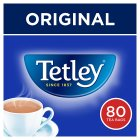 Tetley 80 tea bags - 250g Brand Price Match - Checked Tesco.com 17/09/2014