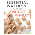 essential Waitrose wholegrain apricot wheats - 500g