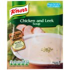 Knorr chicken & leek dry soup