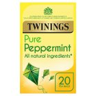 Twinings pure peppermint 20 tea bags - 40g Brand Price Match - Checked Tesco.com 01/07/2015