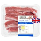 essential Waitrose British Outdoor Bred pork spare ribs - per kg