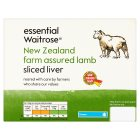 Waitrose New Zealand frozen lamb liver - 360g