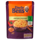 Uncle Ben's special  vegetable pilau rice - 250g Brand Price Match - Checked Tesco.com 05/03/2014