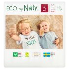 Nature Babycare Junior Nappy Pants 5, 12-18kg 20s - 20s