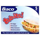 Baco tub-its food containers - 5s