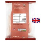 Waitrose Free Range British small/medium whole chicken 1-1.64kg - per kg