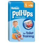 Huggies Pull Ups Potty Training Pants, Boy, Small 8-15kg - 16s Brand Price Match - Checked Tesco.com 20/10/2014