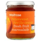 Waitrose Seville orange fresh fruit marmalade - 340g