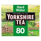 Taylors of Harrogate Yorkshire hard water 80 tea bags - 250g