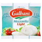 Galbani Italian mozzarella light (undrained weight - 235g) - drained 125g