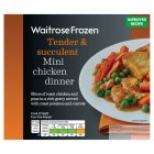 Waitrose Frozen mini chicken dinner - 250g