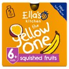 Ella's Kitchen Organic Smoothie Fruit - The Yellow One - 5x90g