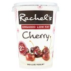 Rachel's organic luscious low fat cherry yogurt