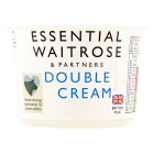 essential Waitrose double cream - 170ml