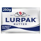 Lurpak Danish slightly salted butter - 250g Brand Price Match - Checked Tesco.com 16/04/2014