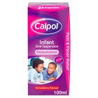 Calpol infant: strawberry - 100ml Brand Price Match - Checked Tesco.com 19/11/2014