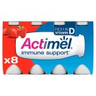 Actimel strawberry drink - 8x100g
