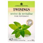 Twinings Revive & Revitalise - Pure Peppermint - 40 Bags
