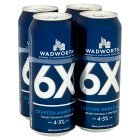 Wadworth beer - 4x500ml Brand Price Match - Checked Tesco.com 05/03/2014