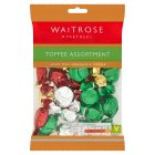 Waitrose assorted toffees - 225g