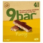 Wholebake nutty 9bar nut & seed bar - 4x40g