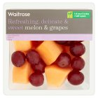 Waitrose melon & grapes - 200g