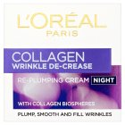 L'Oréal night wrinkle de-crease cream - 50ml Brand Price Match - Checked Tesco.com 05/03/2014