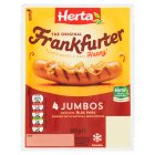 Herta Frankfurters Jumbos 4pack - 360g Brand Price Match - Checked Tesco.com 05/03/2014