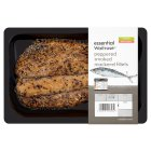 essential Waitrose peppered smoked mackerel fillets - per kg