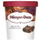 Haagen Dazs belgian chocolate ice cream