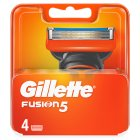Gillette Fusion Manual Razor Blades 4 count - 4s Brand Price Match - Checked Tesco.com 26/03/2015