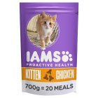 Iams Kitten & Junior Dry Cat Food Chicken - 700g
