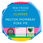 Waitrose Melton Mowbray medium pork pie - 273g
