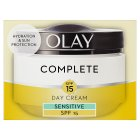 Olay Essentials Complete Care Moisturiser UV Cream Sensitive SPF15 - 50ml