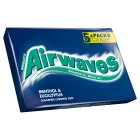 Wrigley's airwaves menthol & eucalyptus - 5 pack Brand Price Match - Checked Tesco.com 04/12/2013