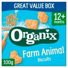Organix Goodies organic animal biscuits - 100g