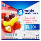 Weight Watchers summer fruit yogurt - 4x110g