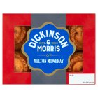 Dickinson & Morris mini Melton Mowbray pork pies - 6s