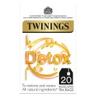 Twinings morning detox 20 tea bags