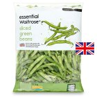 essential Waitrose sliced green beans - 1kg