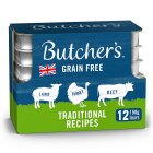Butcher's choice chicken turkey,beef & lamb - 12x150g Brand Price Match - Checked Tesco.com 05/03/2014